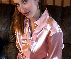 Satin Blouses for Sex - adrianna milf exposed video