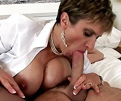 Mature trophy wife fucked hard