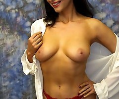 Gorgeous milfs dressed in wonderful blouses